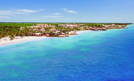 groupon daily deal - 3-, 4-, 5- or 7-Night All-Inclusive Stay for Two at Sanctuary Cap Cana in Dominican Republic. Includes Taxes and Fees.