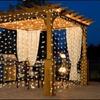 10Ft. 300-LED Warm White String Curtain Light