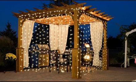 Outdoor Patio Ideas Pergola Curtains