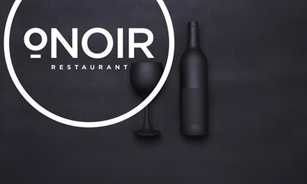Gourmet Dinner with Cocktails and Tea in the Dark for Two or Four at O.Noir Restaurant (43% Off)
