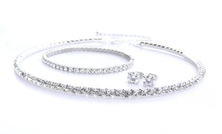 Swarovski Elements 3-Piece Classic Jewelry Set