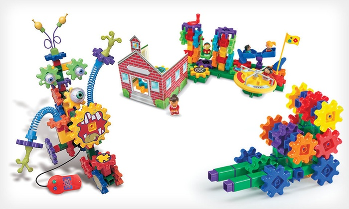 Gears! Gears! Gears! Building Sets: Gears! Gears! Gears! Building Sets (Up to 53% Off). Three Options Available. Free Shipping on Purchases of $15 or More.