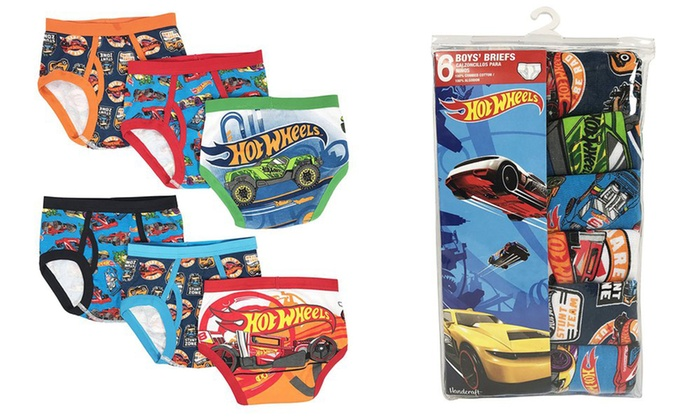 7bd9d5bfc980f Up To 32% Off on Hot Wheels Boys Briefs (6-Pack) | Groupon Goods