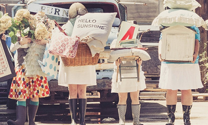 Vintage Market Days - Farmer's Public Market: Admission for Two to Vintage Market Days on Saturday and Sunday or Friday–Sunday (Half Off).