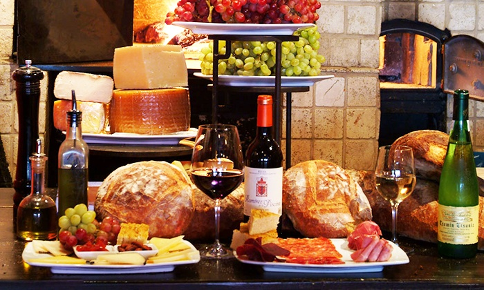 Wine Bar - La Cerveceria: $20 for $40 Worth of European Tapas and Wine for Two at Wine Bar