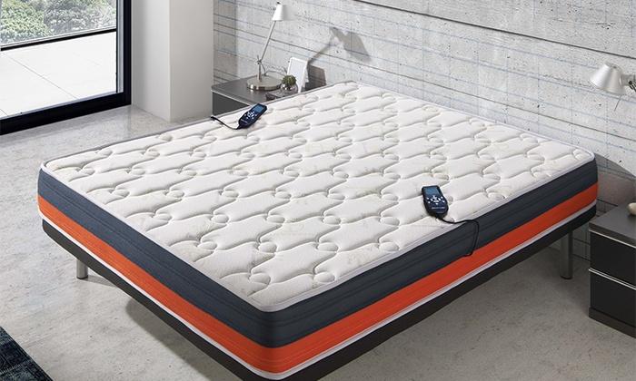 matelas de massage visco gel 3d groupon. Black Bedroom Furniture Sets. Home Design Ideas