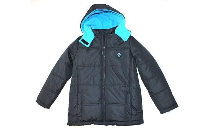 de892a690d61 IZOD Two-Tone Puffer Jacket