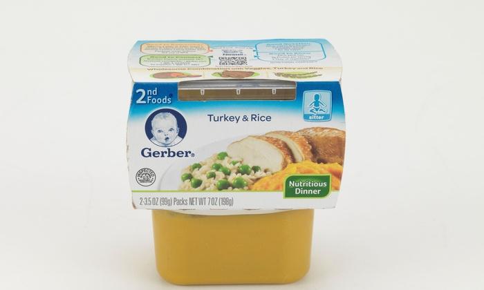 Gerber 2nd Foods Baby Food 8 Pack Groupon