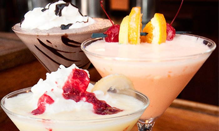 The Fountain On Locust - Midtown: Two Ice-Cream Martinis, or $11 for $20 Worth of Food and Ice-Cream Cocktails at The Fountain On Locust (Up to 45% Off)