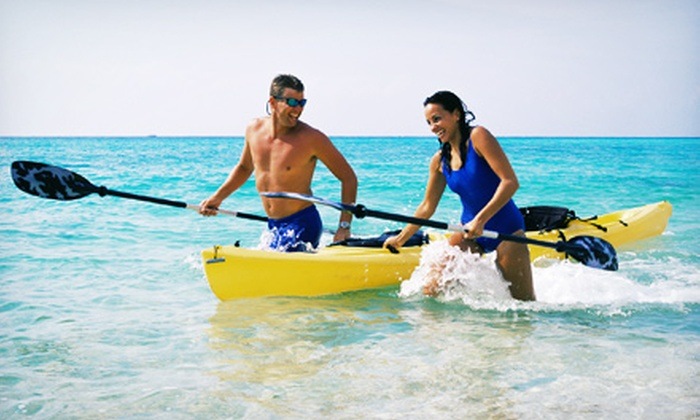 Main Beach Surf + Sport - Wainscott: One-Day Single or Double Kayak or SUP Rental from Main Beach Surf + Sport (Up to Half Off)