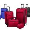 Traveler's Choice 4-Piece Spinner Luggage Set