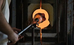 Ridabock Glass Studio & Gallery: $187 for a Two-Hour Private Glass-Blowing Class for Two at Ridabock Glass Studio & Gallery ($400 Value)