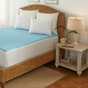 "Temper-Gel Cool Blue 1.5"" Memory-Foam Mattress Topper"