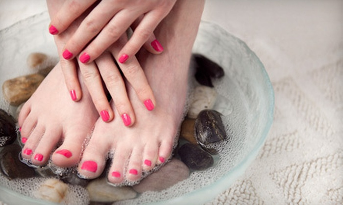 Allendale Nails - Allendale Nail: $29 for a French Manicure with Gel Polish and a French Pedicure with Regular Polish at Allendale Nails ($60 Value)