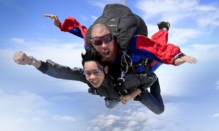 Tandem Skydive from 8,000 Feet for One or Two from Skydive Hollister (Up to 41% Off)