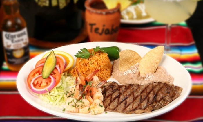 El Tejaban Mexican Grill - Northwest Richfield: $15 for $30 Worth of Mexican Food and Drinks at El Tejaban Mexican Grill