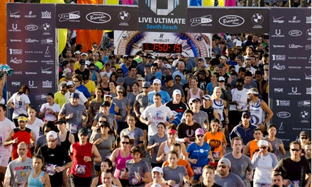 One Entry to the Live Ultimate RUN on Saturday, December 14 (Up to 31% Off). Four Options Available.