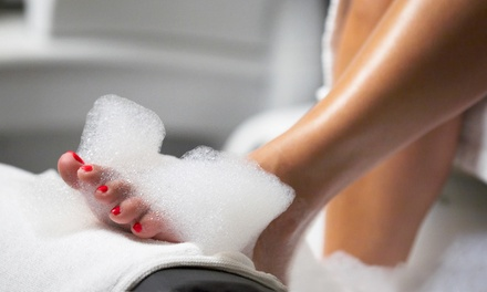 Runaway Spa Pedicure at Aislinn Nails Lounge (Up to 36% Off). Two Options Available.