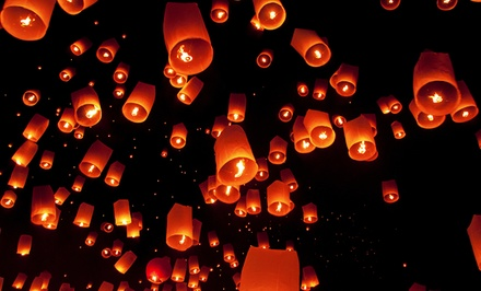 Sky Lanterns and Party Supplies from SkyLantern.com (Up to $91 Off). Three Options Available.