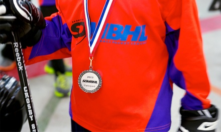 Minor Kids' Program at Sports Dome Minor Ball Hockey League (Up to 58% Off). Three Options Available.