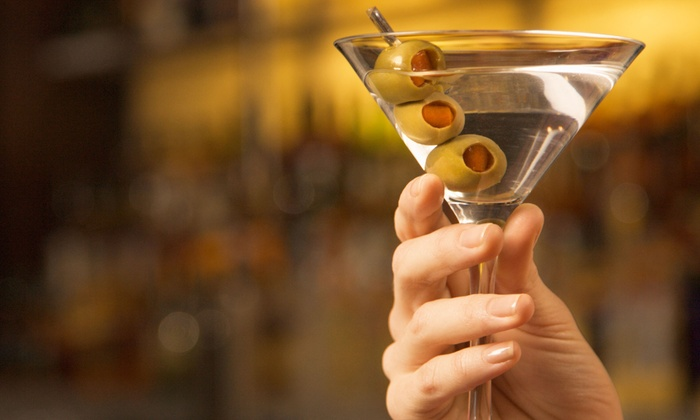 Illusion Bar Grill Cafe - Des Plaines: Martinis and Appetizers or Desserts for Two or Four at Illusion Bar Grill Cafe (Up to 47% Off)
