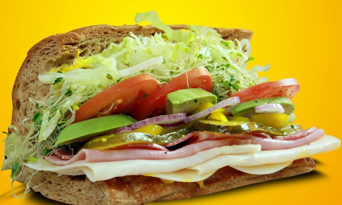 Deli Delicious - Citrus Heights: $10 for $20 Worth of Subs, Salads, and Drinks at Deli Delicious