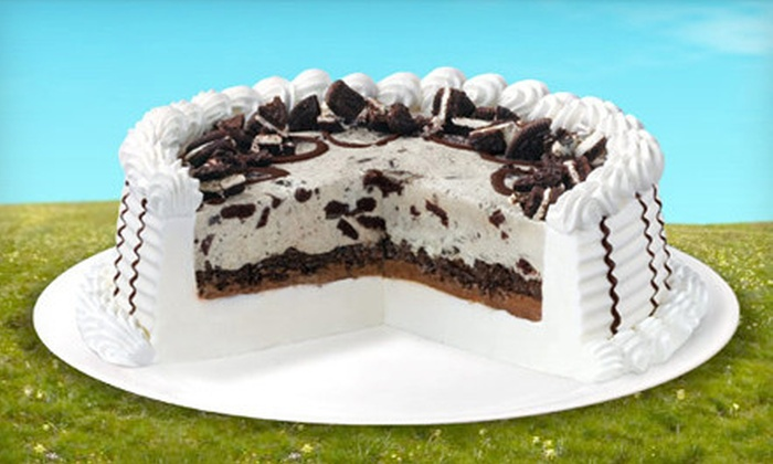 Dairy Queen- DQ Grill & Chill - Garden Grove: Ice-Cream or Blizzard Cake at Dairy Queen (Up to 33% Off). Four Options Available.