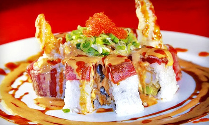 Jimmy's Sushi - Jimmy's Sushi: Sushi and Japanese Food at Jimmy's Sushi (Half Off). Two Options Available.