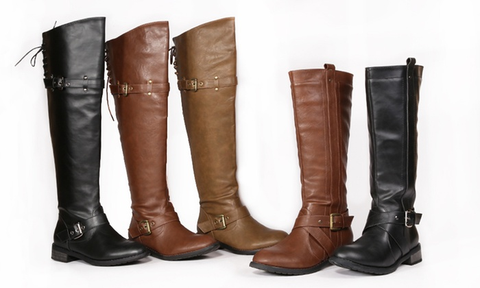 Bucco Over-the-Knee or Knee-High Riding Boots: Bucco Over-the-Knee or Knee-High Riding Boots. Multiple Styles Available. Free Returns.