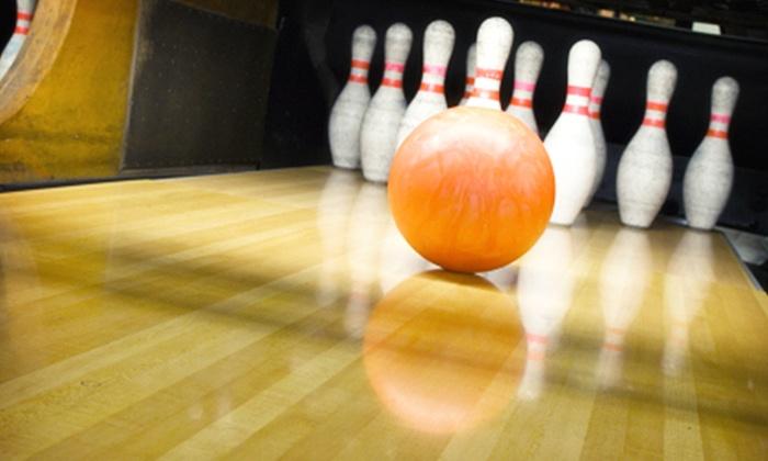 Dotti Bowling - Dottignies: 2h de bowling avec location de chaussures et une grillade pour 2, 4 ou 6 personnes dès 29,90 € au Dotti Bowling