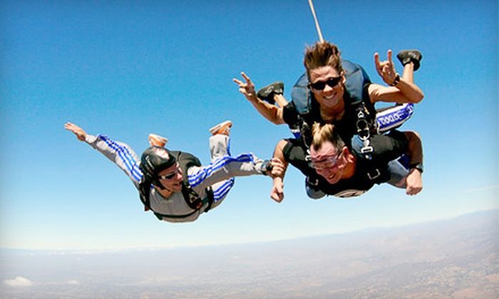 Skydive San Diego - Jamul: $125 for a 10,000-Foot Tandem Skydive Jump from Skydive San Diego in Jamul (Up to $209 Value)