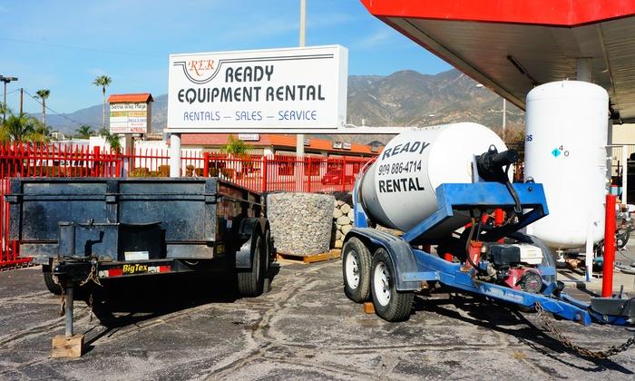 Ready Equipment Rental - San Bernardino: $21 for $40 Toward Equipment Rental at Ready Equipment Rental
