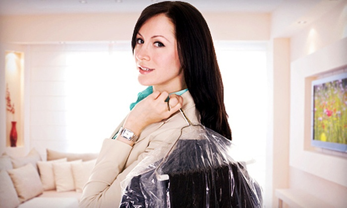 National Yorgeys Cleaners - Multiple Locations: $20 for $40 Worth of Dry Cleaning at National Cleaners & Yorgey's Fine Cleaning