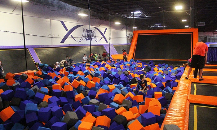 jump passes or party package altitude trampoline park delmar groupon two or four 1 hour jump passes or party package at altitude trampoline park delmar up to 51 off
