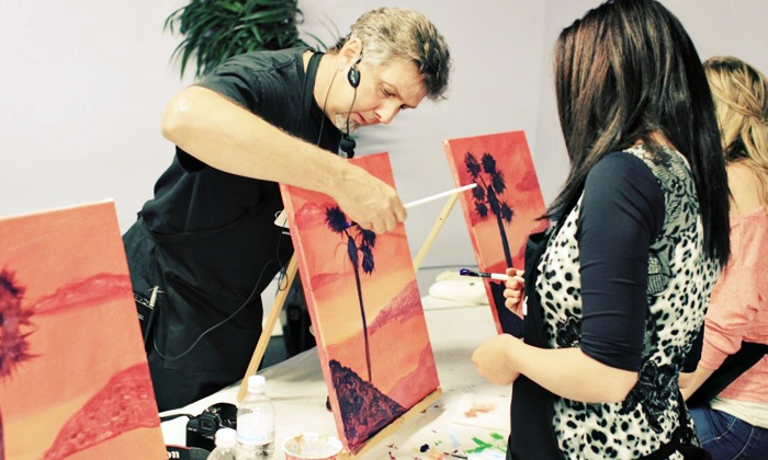PaintNVineyard - Scripps Ranch: Two-Hour Painting Class for One or Two at PaintNVineyard (46% Off)