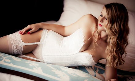 $49 for a One-Hour Boudoir Photo Shoot with Prints and Retouched Digital Images ($377 Value)