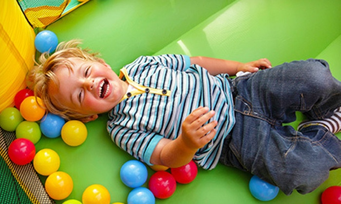 Dizzy's Tumblebus and Bus Stop - Eastgate: Two Hours of Drop-In Childcare or Two or Four Open Play Sessions at Dizzy's Tumblebus and Bus Stop (Half Off)