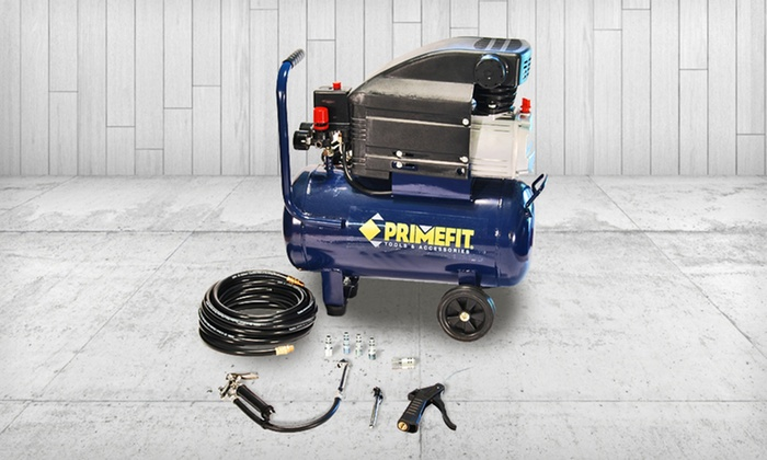 Primefit Home Air-Compressor Kit: $129.99 for a Primefit Home Air-Compressor Kit ($249.99 List Price). Free Shipping and Free Returns.