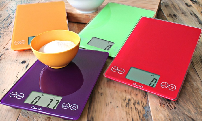 Escali Arti Digital Glass Kitchen Scale: $21 for an Escali Arti Digital Glass Kitchen Scale ($49.95 List Price). 12 Colors Available.