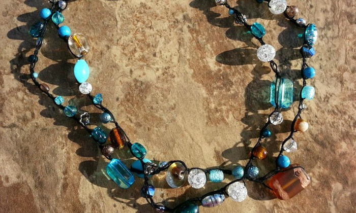 BGray Designs - Calera: One or Two Handmade Necklaces from BGray Designs (Up to 60% Off)