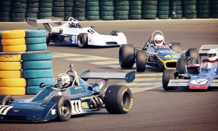 Classic Sports Racing Group - Sonoma Raceway: One- or Two-Day Admission to The Charity Challenge from Classic Sports Racing Group (Up to 52% Off)