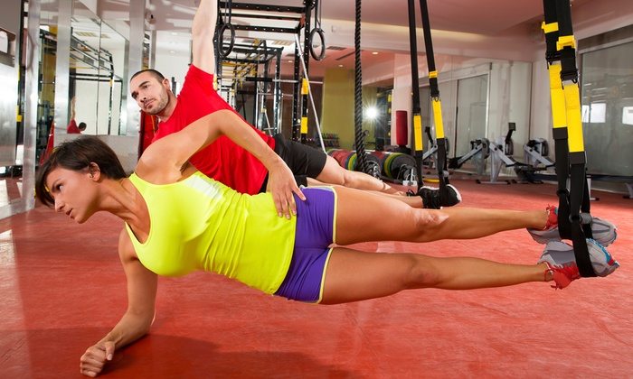 TV Fitness - Downtown Ferndale: Eight TRX Strength-Training or Boot-Camp Classes or One Month of Unlimited Classes at TV Fitness (45% Off)