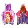 Girls' Disney Princess Hooded Poncho