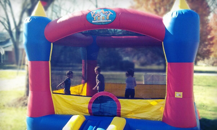 Asheville Festivities LLC - Lower Hominy: 14-Hour Rental of Bounce House or Bounce House and Ball Pit Combo from Asheville Festivities LLC (Up to 52% Off)