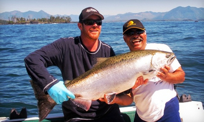 Reel Obsession Sport Fishing - Sooke: Four-Hour Salmon-Fishing Charter for Two or Four from Reel Obsession Sport Fishing (Up to 52% Off)