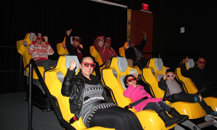 Xtreme XD - West Covina: Digital Motion Ride for Four or Eight at Xtreme XD (Half Off)