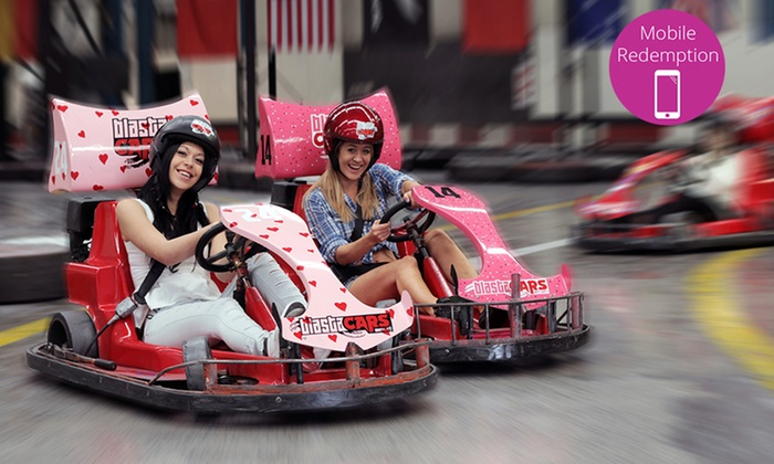 Blastacars Drift Racing Karts - Multiple Locations: Two 15-Minute Drift Karting Sessions for One ($35) or Twelve ($390) at Blastacars Drift Racing Karts (Up to $756 Value)