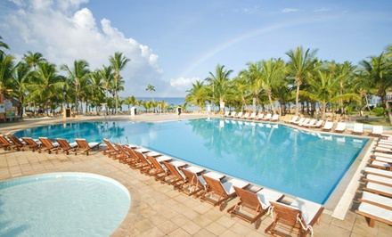 Groupon Deal: 3-, 4-, 5-, 6-, or 7-Night All-Inclusive Stay at Viva Wyndham Dominicus Palace Resort in the Dominican Republic