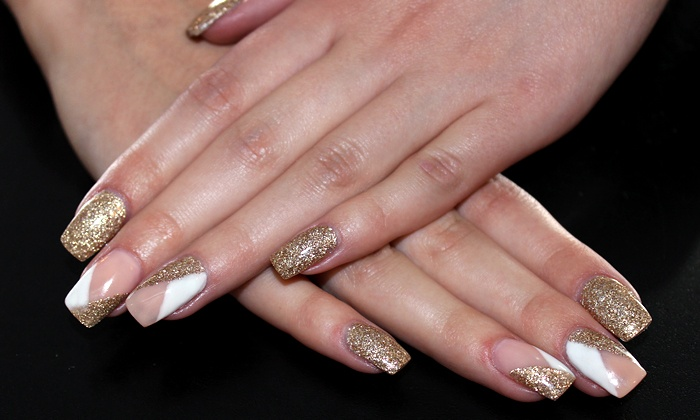 Sunsera Salon Downtown - Saskatoon: Set of Gel Nails with Optional Gel Toes or Three Manicures at Sunsera Salon Downtown (Up to 54% Off)