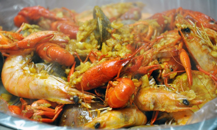 The Fire Crab - Garden Grove: $12 for $20 Worth of Seafood at The Fire Crab